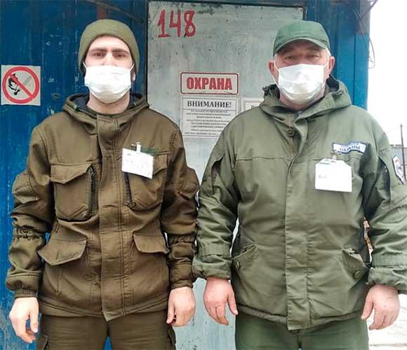 Смена охраны Михайловский Парк