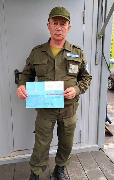 Сотрудник охраны ООО ЧОО НЕОМАКС