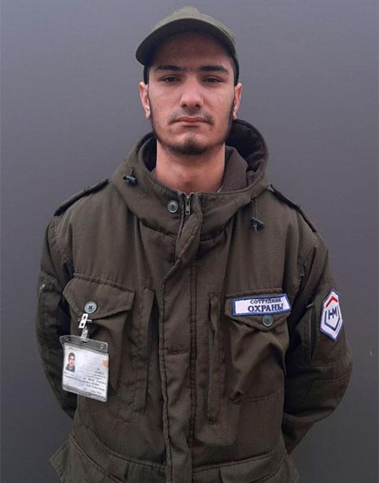 Сотрудник охраны НЕОМАКС