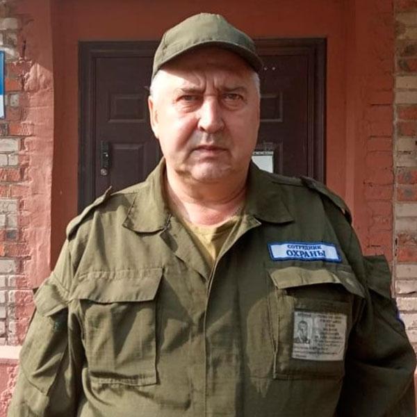 Смена охраны КЗ ЖБК