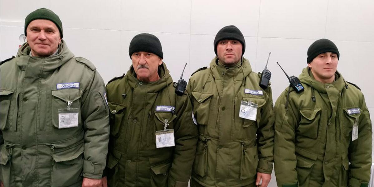 Смена охраны Саларьево