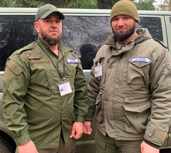 Сотрудники охраны Эльмурзаев Ж. Х., Сугаипов А. Д.