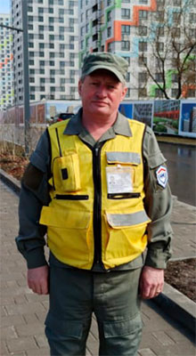 Сотрудник охраны Филин С. Н.