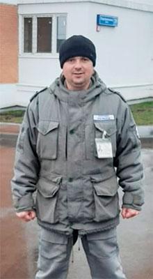 Сотрудник охраны Кириченко Р. И.