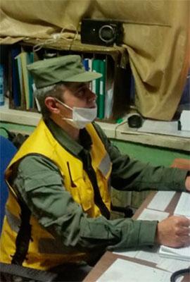 Сотрудник охраны Нагабетьян С. К.