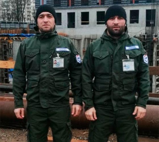 Сотрудники охраны Омаров Г. М., Джамалудинов М. Д.