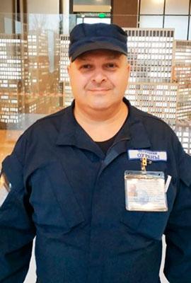 Сотрудник охраны Загорулько В. В.