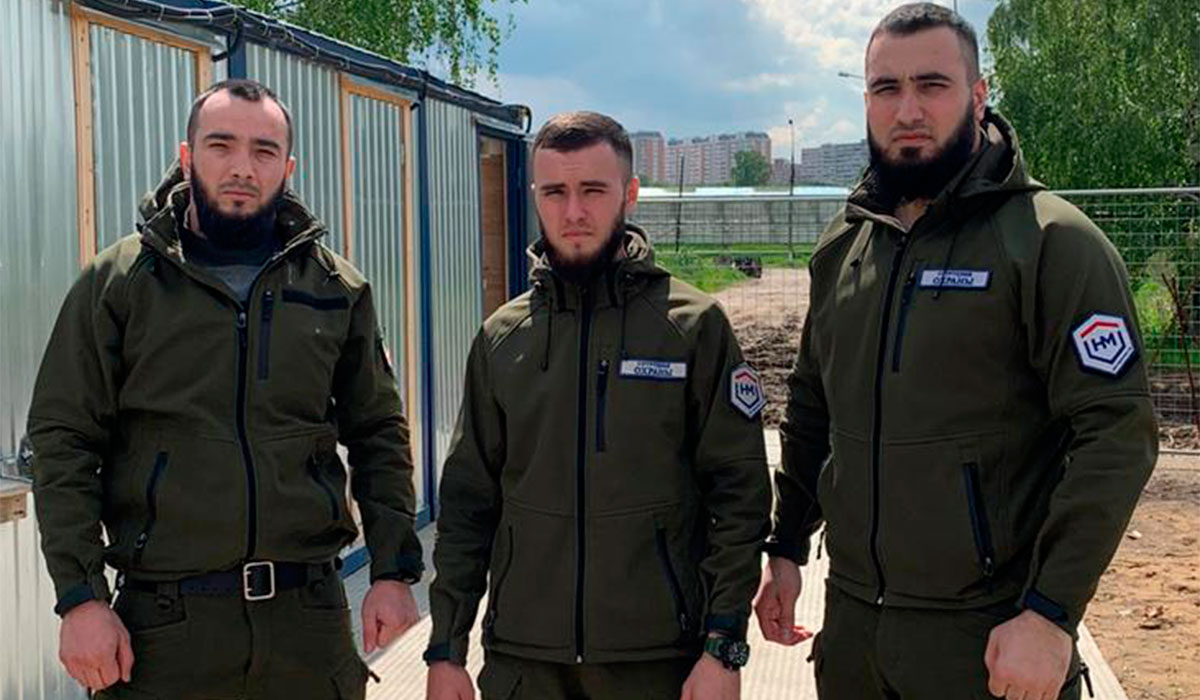 Сотрудники охраны ООО ЧОО НЕОМАКС